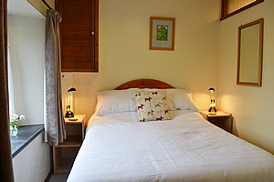 Double bedroom at The Smithy self catering holiday cottage